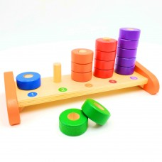 Count & Sort Wooden Manipulative Toy