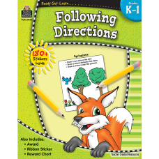 Ready-Set-Learn Following Directions Grade K-1