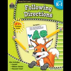 Ready-Set-Learn: Following Directions Grade K-1
