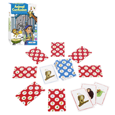 Beleduc Animal Confusion Card Game