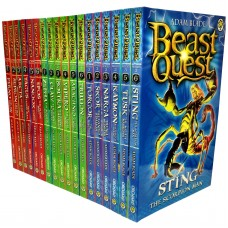 Beast Quest Collection - 18 Books