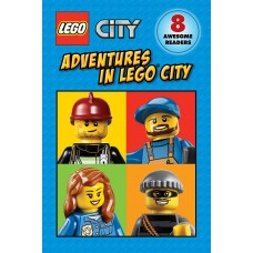 Lego City: Adventures In Lego City 8-Bookset