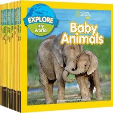 National Geographic Kids Explore My World 18-book Set