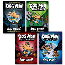 Dog Man Bookset 1-4 Hardback