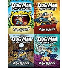 Dog Man Bookset 5-8 Hardback