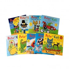 Pete the Cat Picture Sticker/Lift-the-flap Book 9-Bookset Paperback
