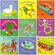 Classic Books with Holes Picture Book 9-Bookset Paperback