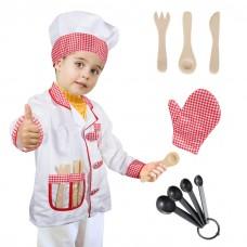 Chef Costume Age 3-6