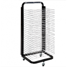 Educo Paint Drying Rack - Movable - 25 Shelves A3