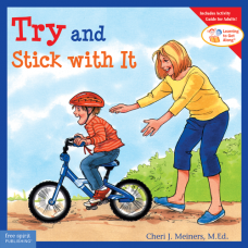 Try And Stick With It Paperback Learning To Get Along