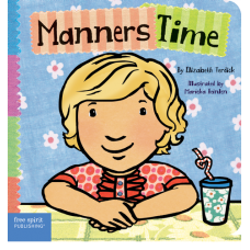Manners Time Board Book Toddler Tools