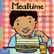 Mealtime Board Book Toddler Tools