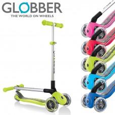 Globber Primo Foldable 3 Wheel Adjustable Scooter