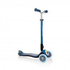 Globber Elite Prime Light Up Scooter Blue
