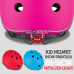 Globber Adjustable Kid Helmet Go Up 45-51cm (non-print) with LED Lights