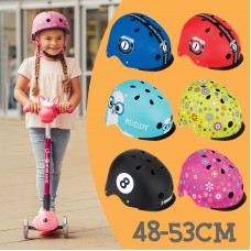 Globber Adjustable Kid Helmet Elite 48-53cm with LED Lights