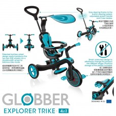 Globber Explorer Trike 4-in-1