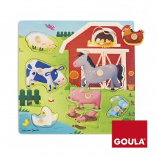 Goula Mothers And Babies Farm Puzzle