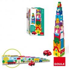 Goula Pile Up Cubes Car
