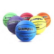 Grampus Rainbow Basket Ball 6 Balls Set