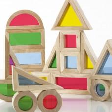 Rainbow Blocks 20 Piece Set