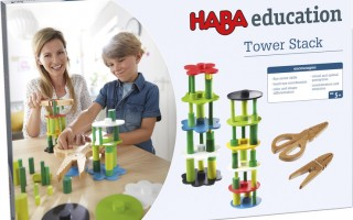 How to Play HABA Tower Stack Game