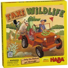 Haba Taxi Wildlife Only The Fastest Get Through! Game Age 5+