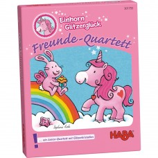 Haba Unicorn Glitterluck - Quartets Game Age 4+