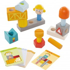 Haba Pegging Game Building Site Game