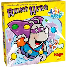Haba Active Kids Rhino Hero Game