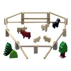 Fences, Trees, Animals Building Blocks