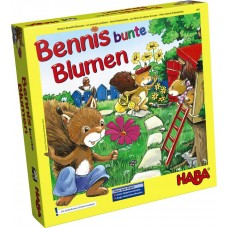 Benny's Beautiful Blossoms Memory Game Age 3+
