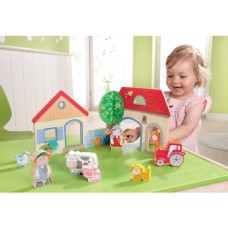 Haba Play Scene Happy Meadow Farm