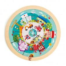 Hape Jobs Roundabout Puzzle