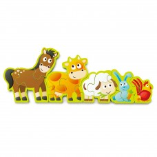 Hape Numbers and Farm Animals