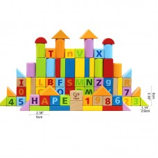 Count and Spell Blocks 80 PCS
