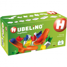Hubelino Marble Run 46 Pcs Cradle Chute Expansion Set