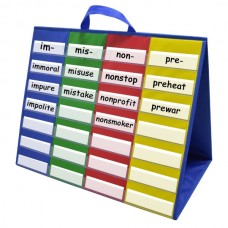 4-Column Double-sided Tabletop Pocket Chart