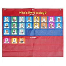 Attendance Pocket Chart (Type B)