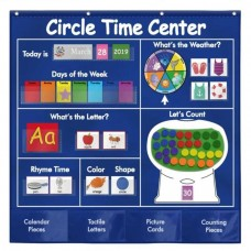 Circle Time Center Daily Learning Pocket Chart