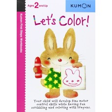 Kumon Let's Color! First Step Workbook
