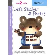 Let's Sticker & Paste! (Kumon First Steps Workbooks)