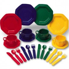 Pretend & Play Dish Set, 24 Piece Set