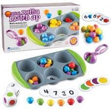 Mini Muffin Match Up Math Activity Set