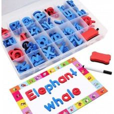 Magnetic Letters Kit with Dry Erase Magnet Board