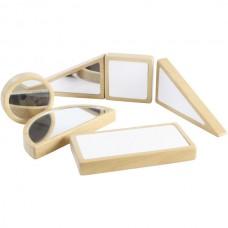 6-Piece Mirror Block And Dry Erase Block Set