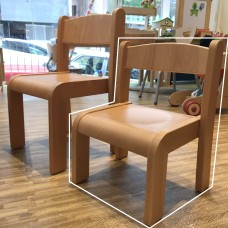 Beech Wood Chair Short Seat Height 220mm