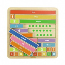 Counting Bars Game Board