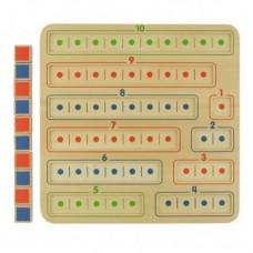1-10 Number Bonds Learning Board