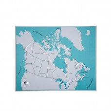 Labeled Canada Control Map